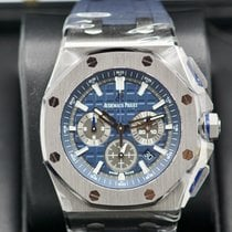 Audemars Piguet Royal Oak Offshore Titanium 42mm Blue No numerals United States of America, Massachusetts, Pittsfield