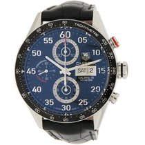 TAG Heuer Carrera Calibre 16 43mm Sort