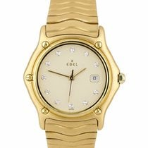 Ebel Wave Yellow gold 32mm Champagne United States of America, New York, Massapequa Park