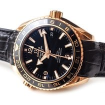 Omega Or rouge Remontage automatique Noir 43,5mm occasion Seamaster Planet Ocean