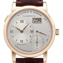 A. Lange & Söhne Red gold Manual winding Silver Roman numerals 38,5mm new Lange 1