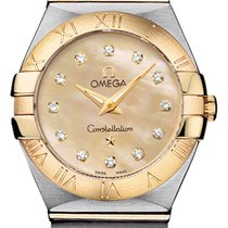 Omega Constellation Brushed 24mm 123.20.24.60.57.001