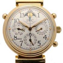 IWC Red gold Automatic pre-owned Da Vinci Perpetual Calendar