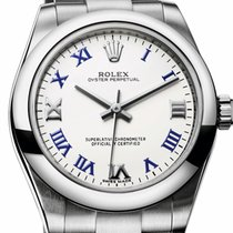 Rolex Oyster Perpetual 31mm dial White