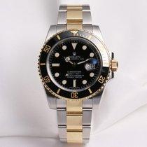 Rolex Submariner 116613LN Steel & Gold Ceramic Bezel