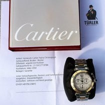 Cartier 2113 Gold/Steel 2002 Pasha 38mm pre-owned