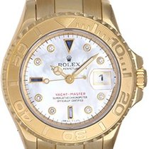 Rolex Lady Yacht - Master 18K Ladies Watch 169628 Mop Diamond...