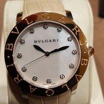 Bulgari 37mm Automatic 2016 new Bulgari Mother of pearl