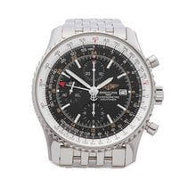 Breitling Navitimer World Steel 46mm Black United Kingdom, Bishop's Stortford