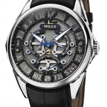 Milus Steel 45mm Automatic TIRI002-X new