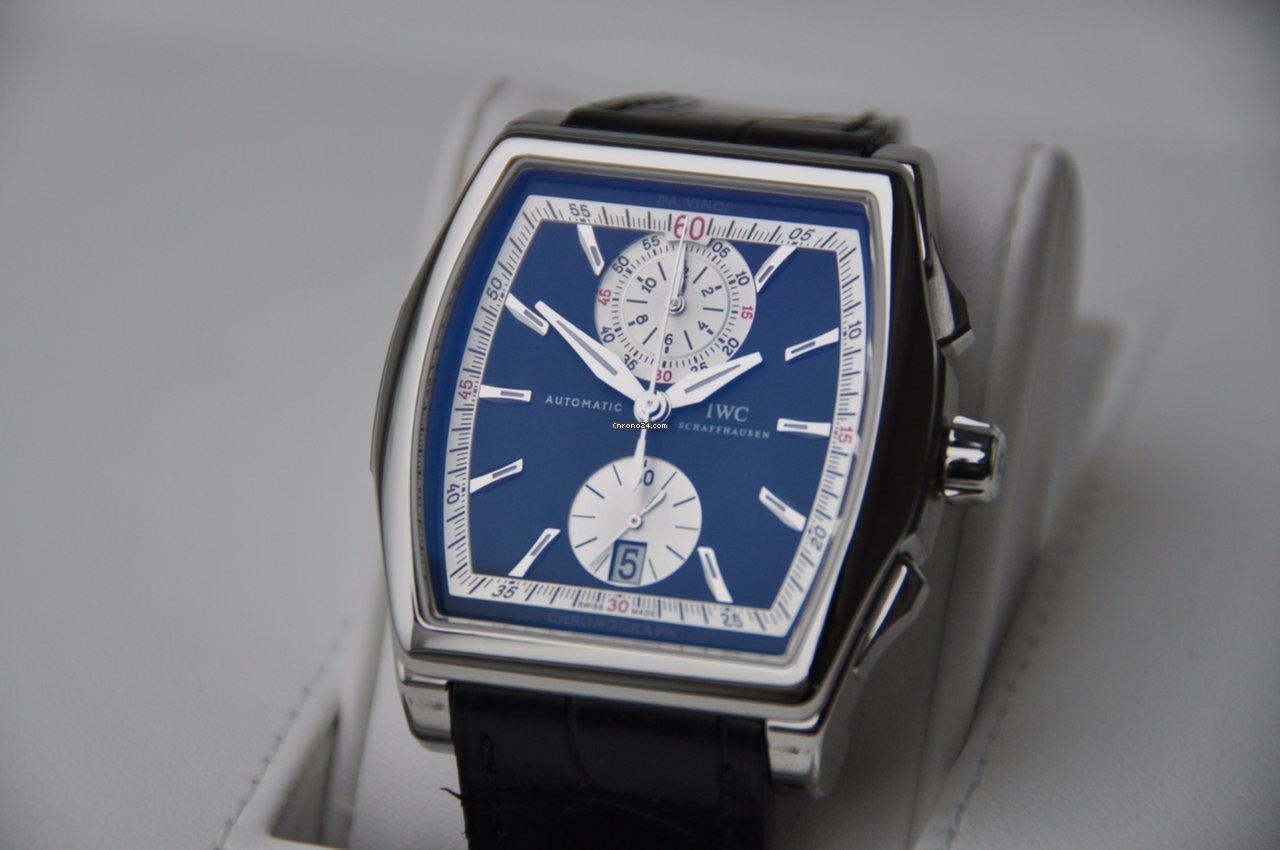 IWC Da Vinci Chronograph IW376413 2007 подержанные
