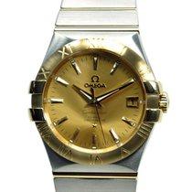 歐米茄 Constellation 18k Gold Steel Gold Automatic 123.20.35.20.0...