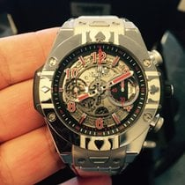 Hublot Steel 45mm Automatic 411.SX.1170.LR.WPT15 new