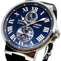 Ulysse Nardin Marine Chronometer Blue 43mm 263-67 - Box & Papers