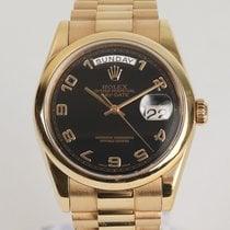 Rolex Day-Date 36 Rose gold 36mm Black Arabic numerals
