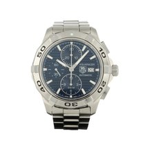 TAG Heuer Chronographe 42mm Remontage automatique 2012 occasion Aquaracer 300M