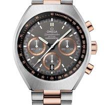 Omega Speedmaster Mark II nuevo Automático Reloj con estuche y documentos originales 327.20.43.50.01.001