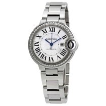 Cartier Ballon Bleu 33mm new Automatic Watch with original box and original papers W4BB0016