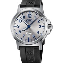 Oris BC3 Steel 42mm Silver Arabic numerals United States of America, Texas, FRISCO