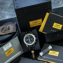 Breitling Navitimer Ocel 41mm Černá Arabské