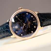 Frederique Constant Manufacture Slimline Moonphase 38.8mm Blauw