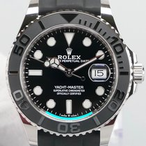 Rolex Yacht-Master 42 White gold 42mm Black
