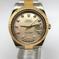 Rolex Datejust II Gold/Steel 41mm Roman numerals United Kingdom, Leicester