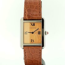 Cartier Tank Solo Steel 24mm Orange