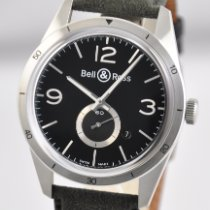 Bell & Ross BR V1 Steel 42mm Black United States of America, Ohio, Mason