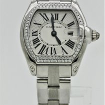 Cartier Roadster White gold Silver Roman numerals United States of America, Florida, Key Biscayne