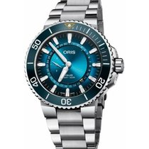 Oris Aquis 01 743 7734 4185-SET 2020 new
