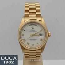 Rolex Day-Date 36 Oro giallo 36mm Bianco Senza numeri Italia, Roma