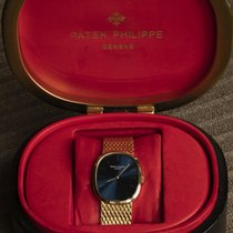 Patek Philippe Golden Ellipse Yellow gold 27mm Blue No numerals United Kingdom, High Peak