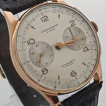 Chronographe Suisse Cie Rose gold 37mm Manual winding 830155 pre-owned