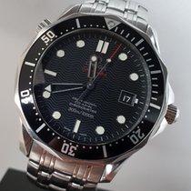 Omega Seamaster Diver 300 M rabljen 41mm Crn Datum, nadnevak Zeljezo