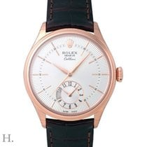 Rolex Cellini Dual Time 50525 New Rose gold 39mm Automatic