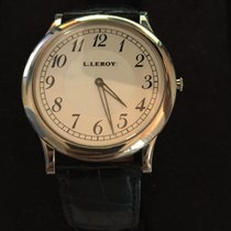 L.Leroy 2mm Manual winding 2010 pre-owned Silver