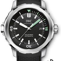 IWC Aquatimer Automatic Stahl 42mm Schwarz Arabisch