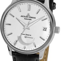 Jacques Lemans Steel Automatic Silver 44mm new