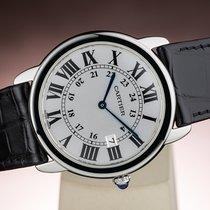Cartier RONDE SOLO DE CARTIER DATE SAPPHIRE