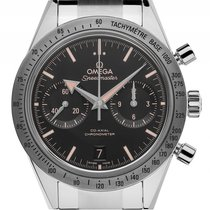 Omega Speedmaster '57 Co-Axial Stahl Automatik Chronograph...