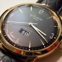 Glashütte Original Sixties Panorama Date 2-39-47-02-01-04 Glashutte Vintage Panorama Quadrante Nero new