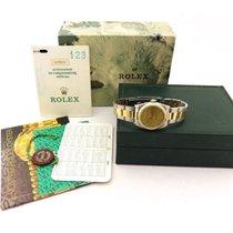 Rolex Oyster Perpetual acciaio e oro medium size box & papers