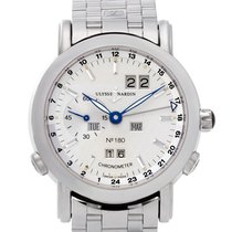 Ulysse Nardin GMT +/- Perpetual Platinum 38mm Silver No numerals United States of America, Florida, Surfside