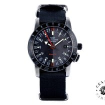 Glycine 42mm Automatic 2017 new Airman Base 22 Black