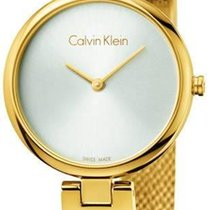 ck Calvin Klein new Quartz 28mm Steel Mineral Glass