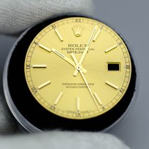 Rolex 2Tone DateJust Champagne Tritium Dial Quickset