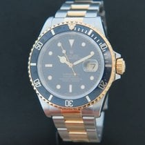 Rolex Submariner Date Gold/Steel 16613