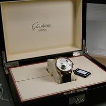 Glashütte Original PanoLunar Tourbillon neu Automatik Uhr mit Original-Box und Original-Papieren 1-93-02-05-05-05