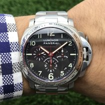 Panerai Luminor Chrono Steel 40mm Black